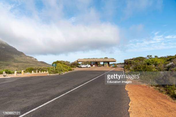Cape of Good Hope, Western Cape, South Africa, The entrance to Table Mountain National Park at The Cape of Good Hope, South Africa.