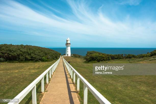 Cape Otway Lighthouse and footpath