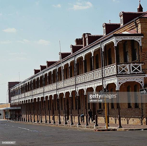 Cape Province / Kimberley: Das ehemaligeVerwaltungsgebäude der De-BeersConsolidated Diamond Mines - 1993