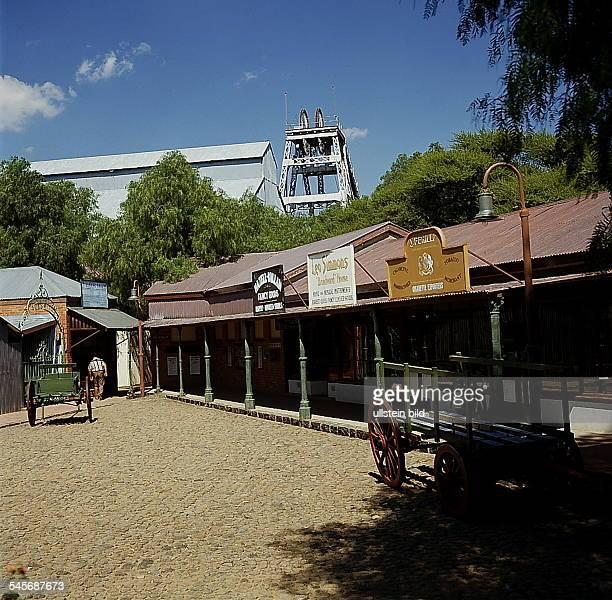 Cape Province / Kimberley: De-Beer'sMine, Historische Diamanten - Stadt- 1993