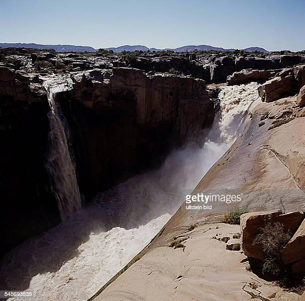 Cape Province: Upington - Augrabies,`Augrabies Falls' des Oranje- 1993