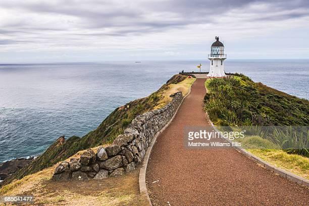 Cape Reinga Lighthouse (Te Rerenga Wairua Lighthouse), Aupouri Peninsula, Northland, New Zealand