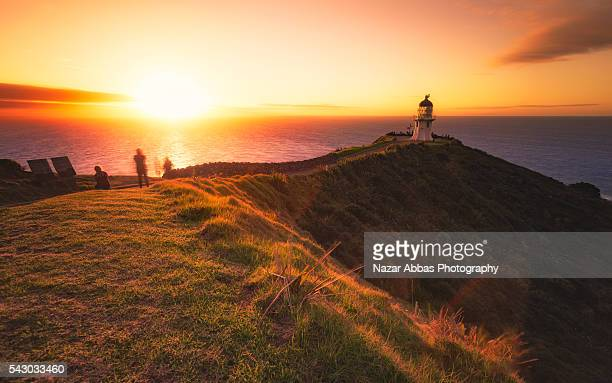 cape reinga, northland, new zealand - northland new zealand stock pictures, royalty-free photos & images
