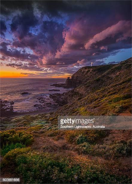 Cape Schanck, on the coastline of the Mornington peninsular, Victoria, Australia.