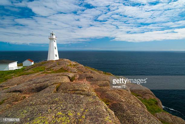 cape spear lighthouse - east stock pictures, royalty-free photos & images