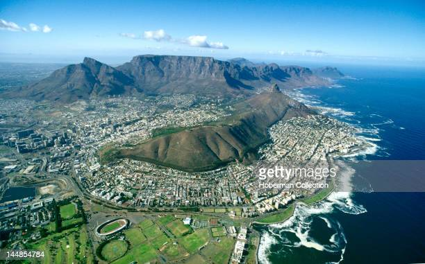 Cape Town Aerial South Africa