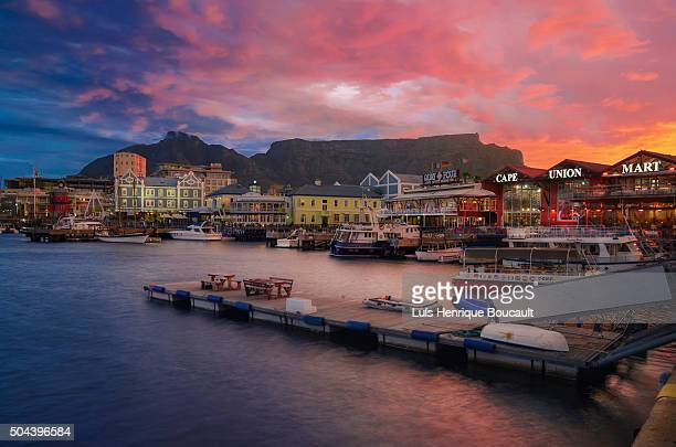 Cape Town and Sunset Time