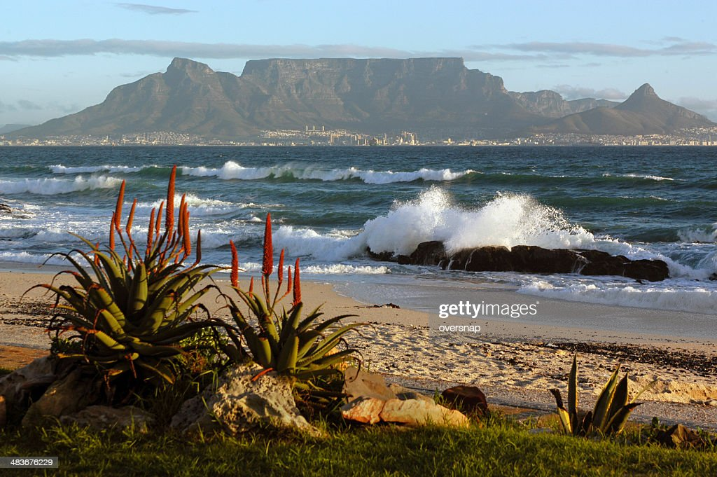 Cape Town and Table Mountain : Stock Photo