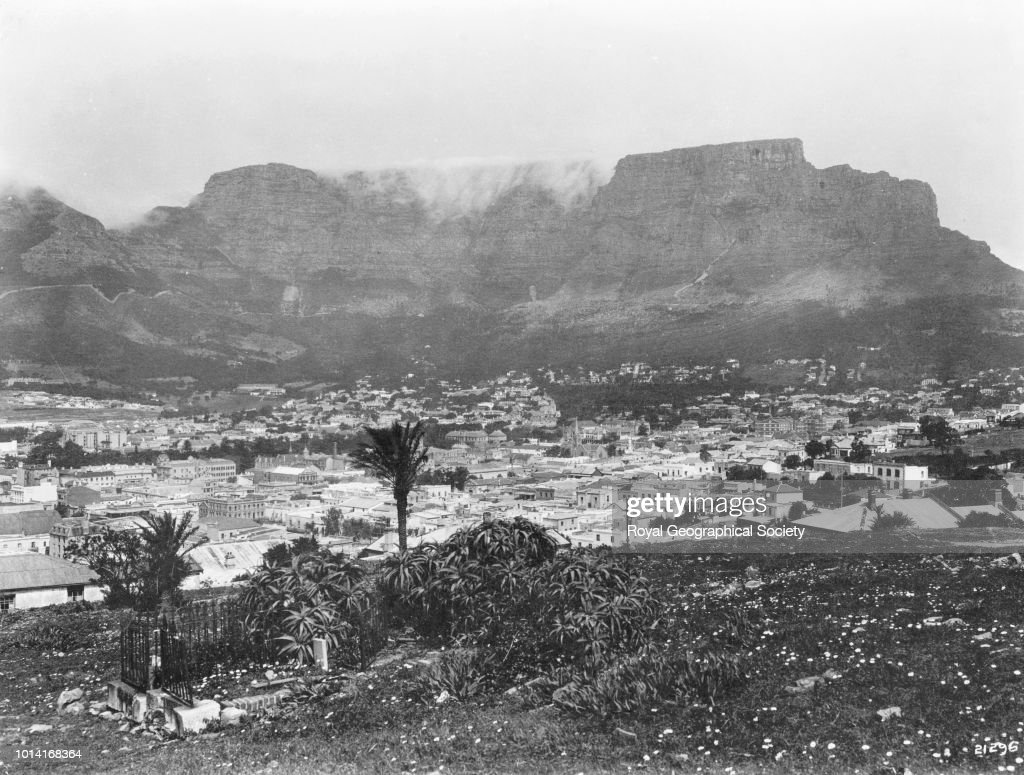 Cape Town and Table Mountain, ...