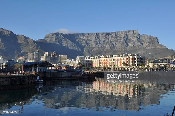 cape town and table mountain view - waterfront stock pictures, royalty-free photos & images