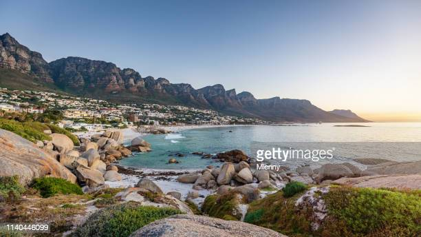 Cape Town Camps Bay Sunset Panorama