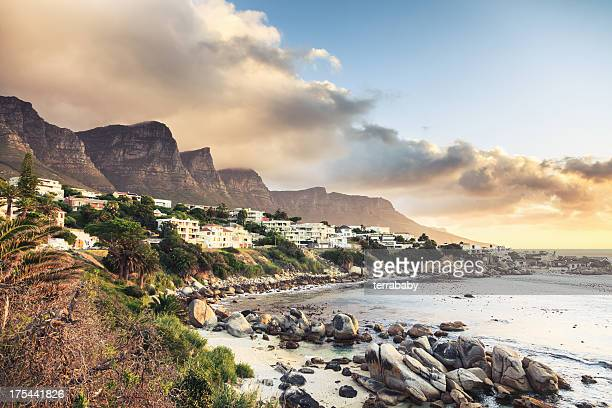 Cape Town Camps Bay Sunset South Africa