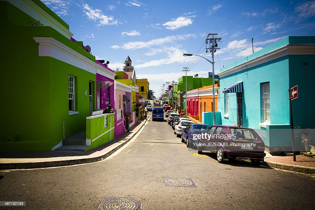 Cape Town colorful houses - South Africa : Stock-Foto