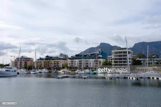 Cape Town Harbor at the V&A Waterfront