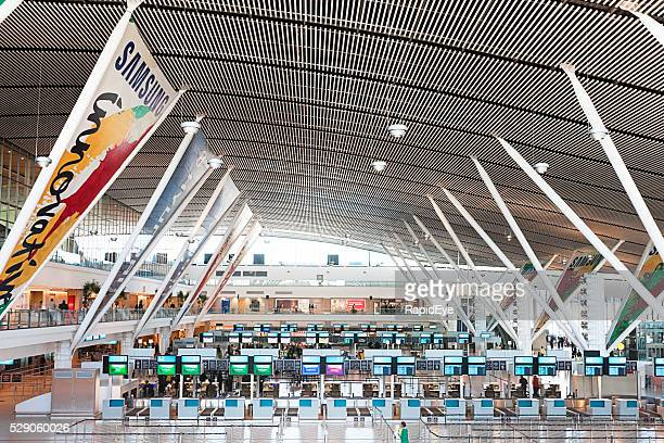 Cape Town International Airport check-in area