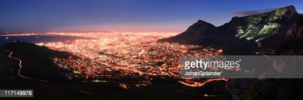 Cape Town Panorama bei Nacht