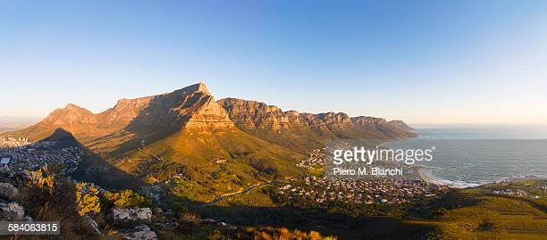 cape town - table mountain stock pictures, royalty-free photos & images