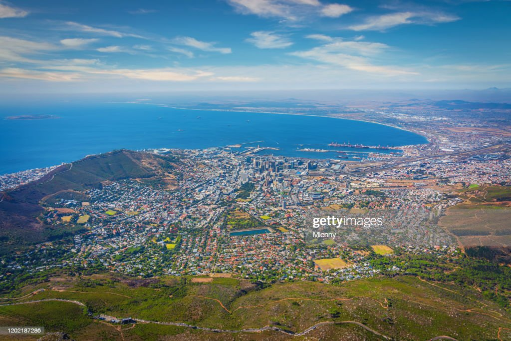 Cape Town Scenic View South Africa : Stock Photo