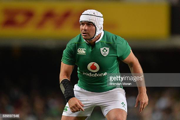 Cape Town South Africa 11 June 2016 Rory Best of Ireland during the 1st test of the Castle Lager Incoming series between South Africa and Ireland at...