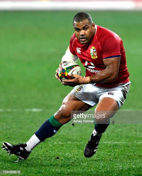 Cape Town , South Africa - 31 July 2021; Kyle Sinckler of the British and Irish Lions during the second test of the British and Irish Lions tour...