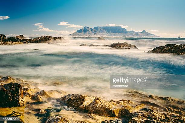 cape town south africa - table mountain stock pictures, royalty-free photos & images
