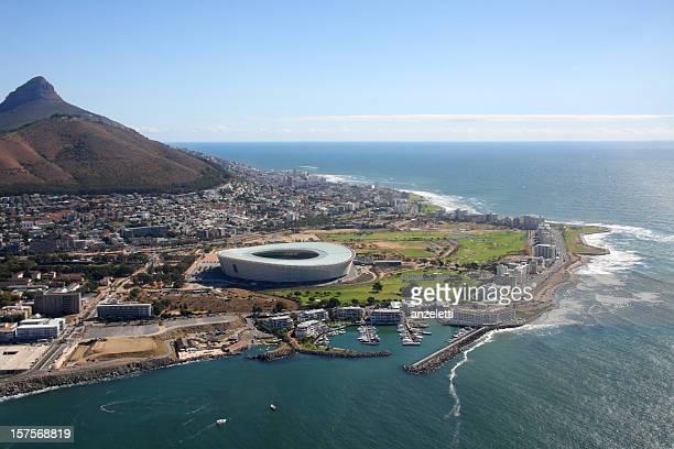 Estádio Vista aérea da Cidade do Cabo