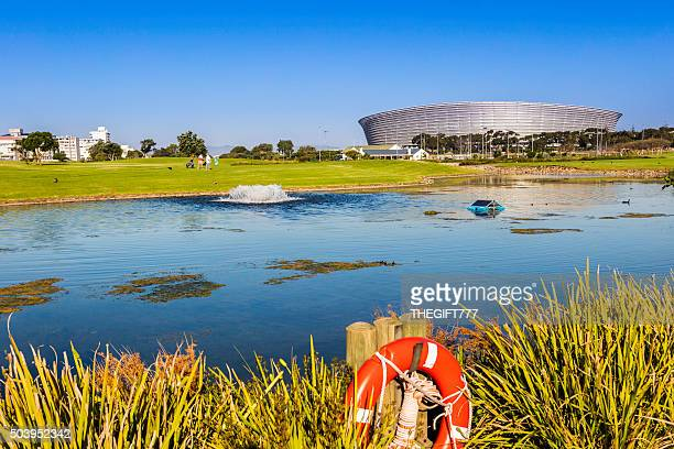 Cape Town Stadium in Greenpoint and Golf Course