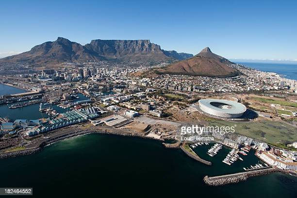 Cape Town Table Mountain Aerial