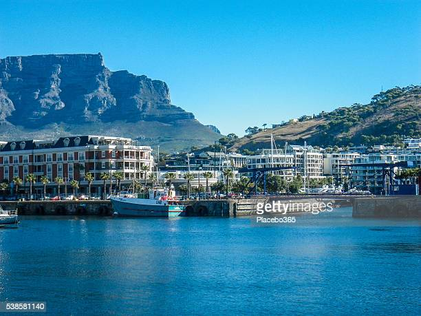 Cape Town Victoria Albert Waterfront and Table Mountain