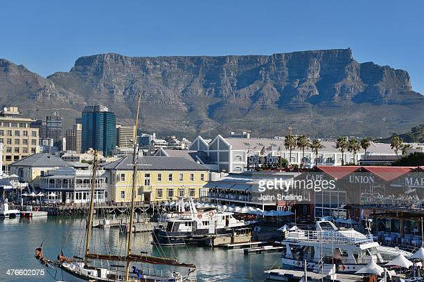 cape town waterfront - uferviertel stock-fotos und bilder
