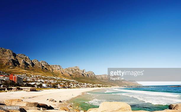 Cape Town's Twelve Apostles-Bergkette Berge und Camps Bay beach