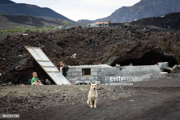 Cape Verde Fogo Santa Catarina At the last outbreak in 2015 destroyed houses in the Caldeira
