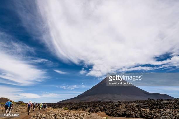 Cape Verde Fogo Santa Catarina hike to the volcano Fogo