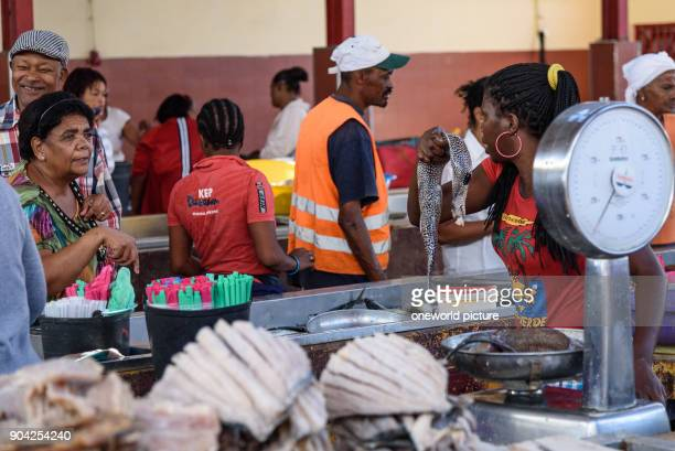 Cape Verde São Vicente Mindelo fish market of Mindelo