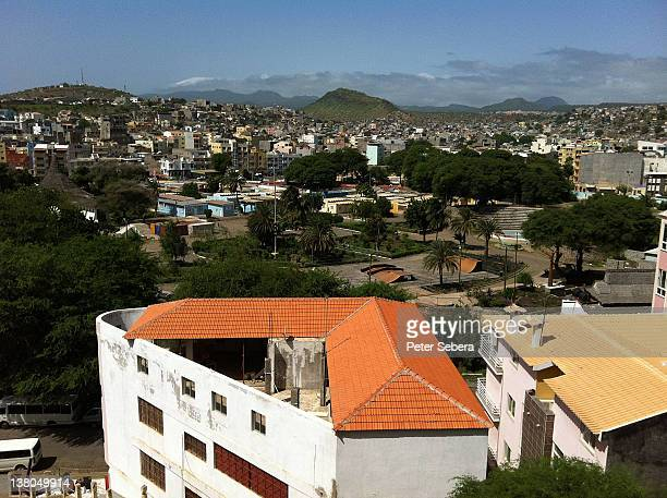 cape verde,view of praia - praia stock pictures, royalty-free photos & images