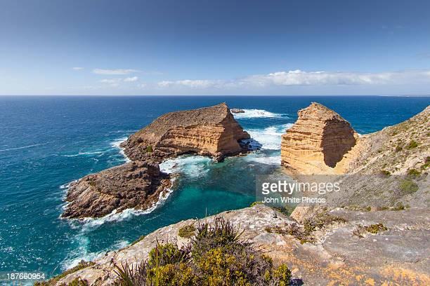 cape wiles. eyre peninsula. south australia - porto lincoln - fotografias e filmes do acervo