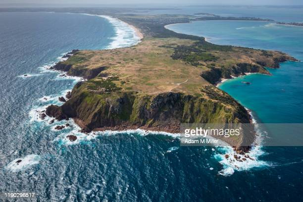 cape woolamai - phillip island stock pictures, royalty-free photos & images
