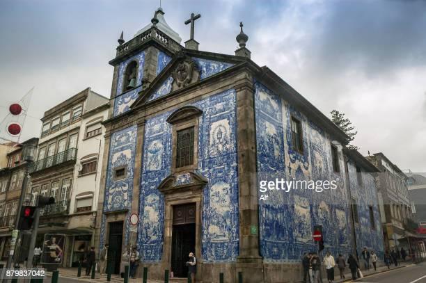 Capela das Almas in Oporto (Chapel of the Souls), Portugal