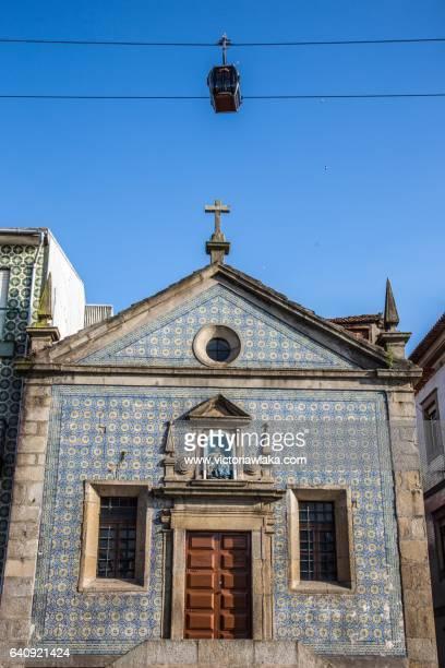Capela de Nossa Senhora da Piedade with ropeway