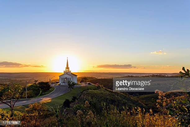 capela são francisco de assis - assis ストックフォトと画像