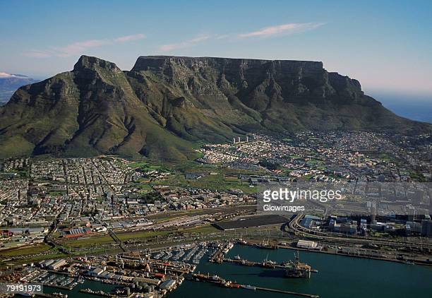 Capetown, South Africa, aerial view