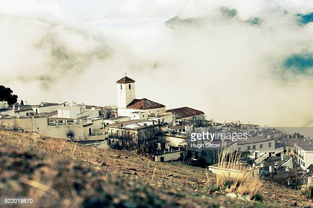 capileira village. spain. - hugh sitton stock pictures, royalty-free photos & images