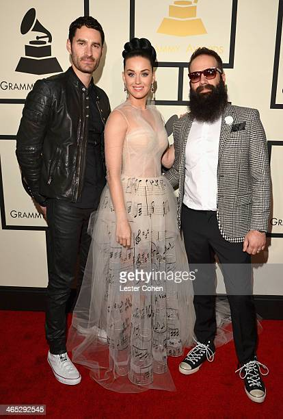Capital Cities featured wearing Converse in support of the GRAMMY Foundation's GRAMMY Camp' Ryan Merchant, recording artist Katy Perry and Sebu...