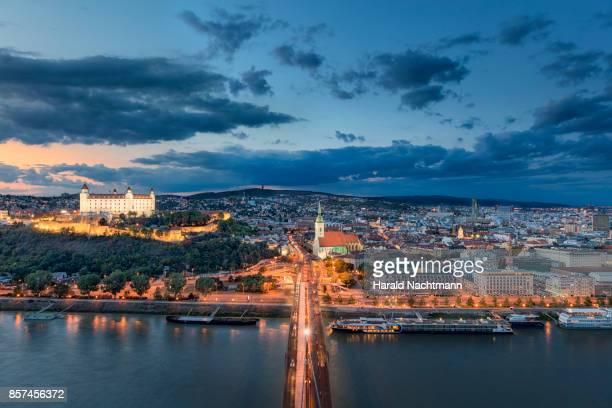 capital city of slovakia - bratislava stock pictures, royalty-free photos & images