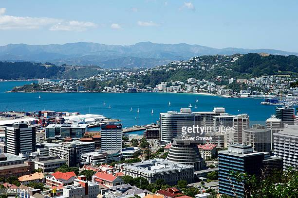 capital city - beehive new zealand stock pictures, royalty-free photos & images