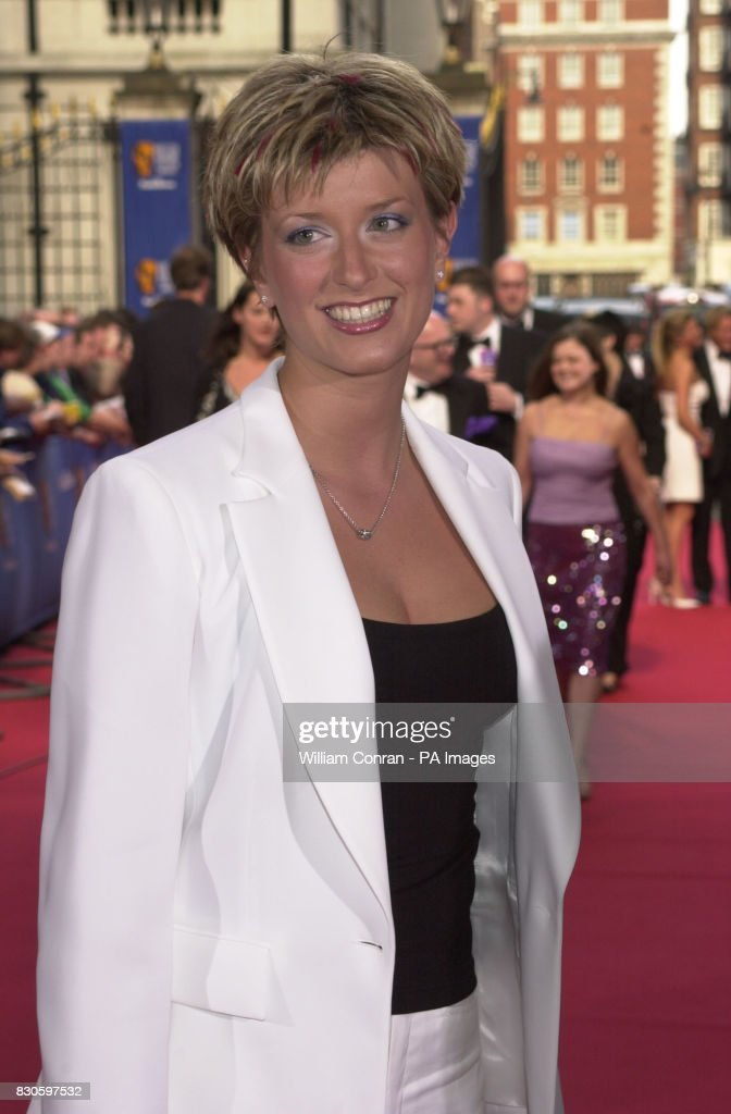 Capital FM DJ Caroline Feraday arrives at the British
