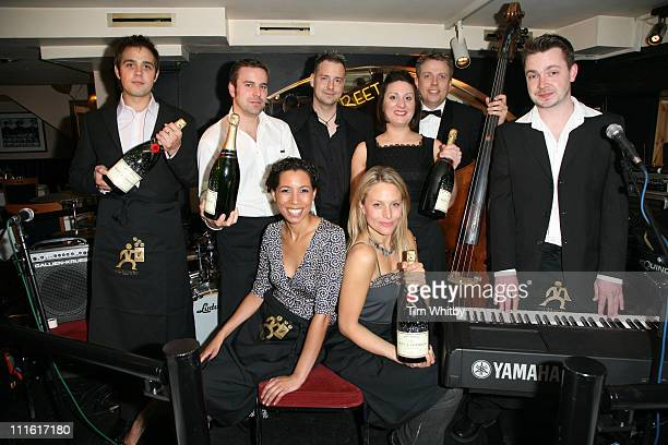 Capital FM DJs during Capital Radio -Help A London Child Charity Night at Dover Street in London, Great Britain.