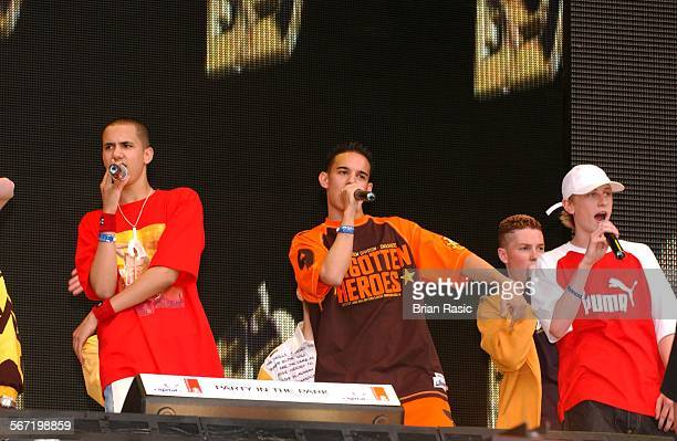 Capital Fm Party In The Park For The Princes Trust In London Britain 05 Jul 2003 Blazin Squad