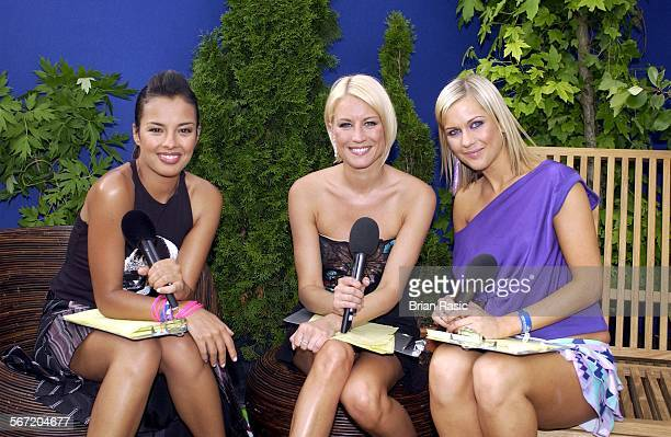 Capital Fm Party In The Park For The Princes Trust In London Britain 05 Jul 2003 Liz Bonnin Denise Van Outen And Kate Lawler