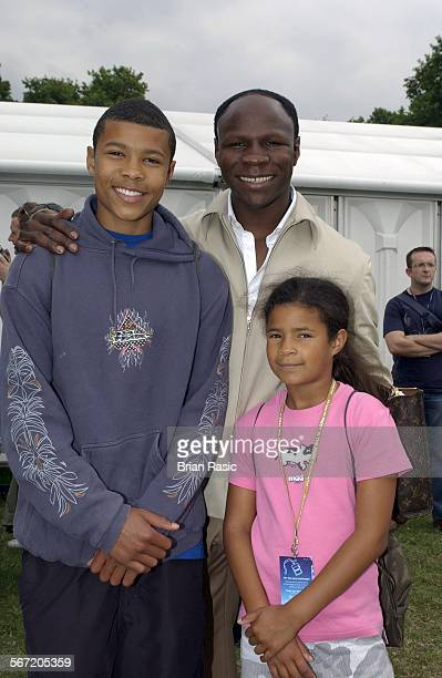 Capital Fm Party In The Park For The Princes Trust In London Britain 05 Jul 2003 Chris Eubank And Children